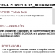 PORTE FENETRE ALUMINIUM , NOUVEAUTES PRODUITS 2020  CAIB , DUNKERQUE