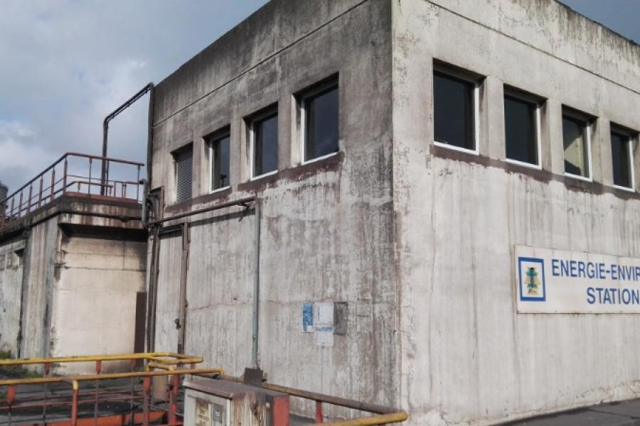 Mise en place de menuiserie aluminium de type WICONA en milieu industriel
