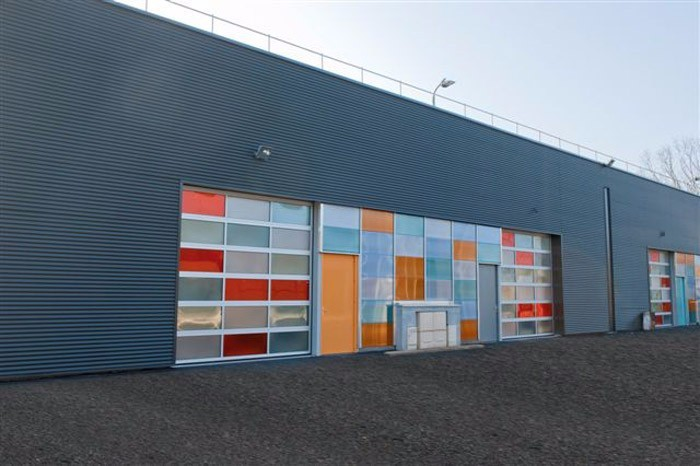 porte de garage industrielle porte sectionnelle industrielle dunkerque nord 59. Black Bedroom Furniture Sets. Home Design Ideas